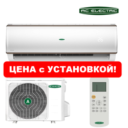 Сплит-система AC Electric ACEM-12HN1_16Y с монтажом