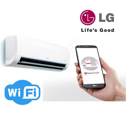Инверторный кондиционер LG PM09SP с Wi-Fi